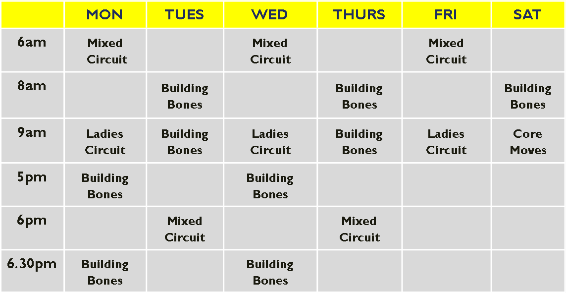 high school timetable template